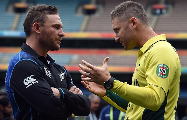 Michael Clarke shares his thoughts with Brendon McCullum
