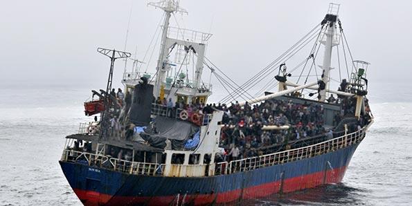 MV Sun sea - Sri Lanka to Canada