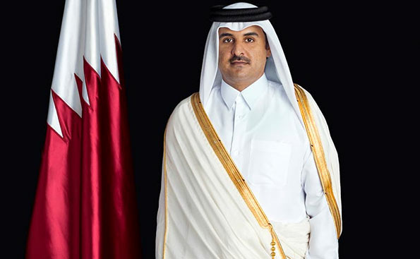 The Emir of Qatar, Sheikh Tamim bin Hamad Al-Thani