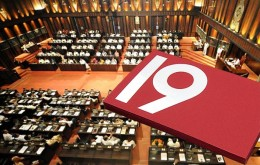 19th amendment passed in Sri Lanka Parliament