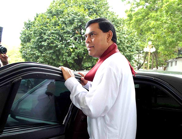 Basil Rajapaksa arrested