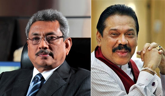Gotabhaya and Mahinda Rajapaksa