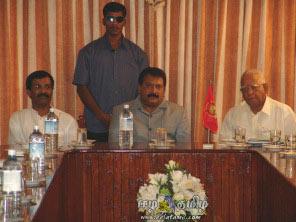 Prabhakaran with R. Sampanthan