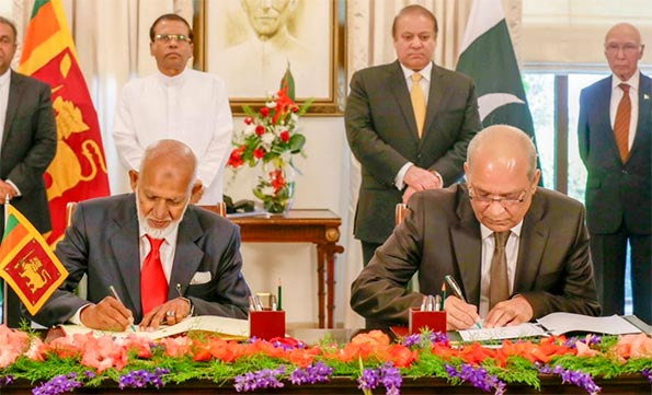 Sri Lanka, Pakistan sign six MoUs