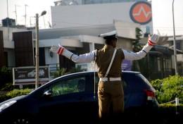 Sri Lanka traffic police