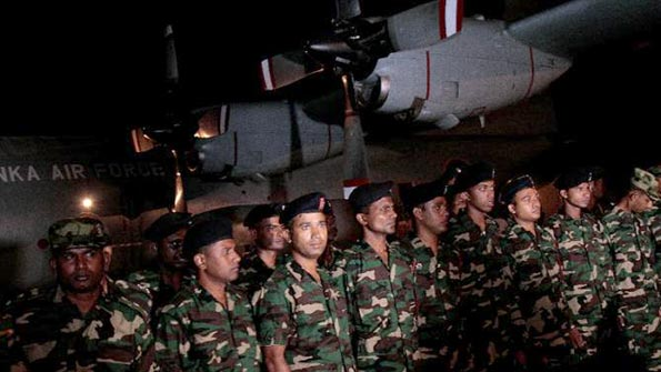 Sri Lankan rescue team leaves for Nepal