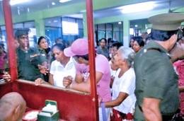 Health sector strike in Sri Lanka