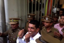 Johnston Fernando arrested