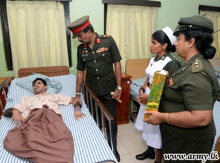 Army Commander Crishanthe De Silva at Ragama Ranaviru Sevana