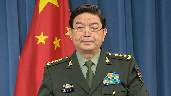 Chinese Defence Minister Chang Wanquan