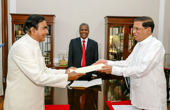DM Jayaratne was appointed as Senior Political Advisor to the President Maithripala Sirisena
