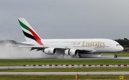 Emirates landing