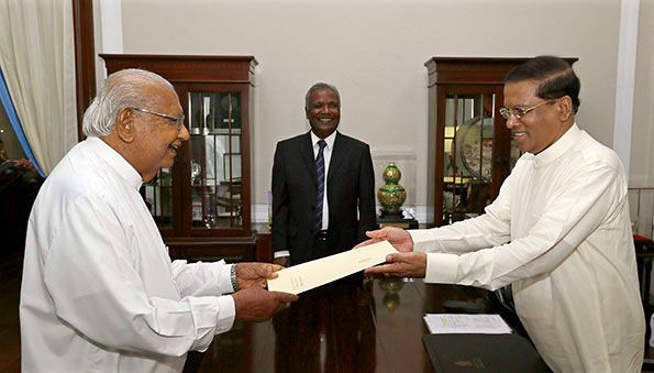 Ratnasiri Wikramanayake was appointed as Senior Political Advisor to the President Maithripala Sirisena