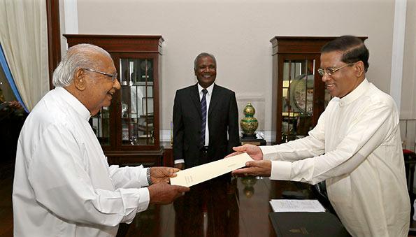Ratnasiri Wikramanayake was appointed as Senior Political Advisor to the President Maithripala Sirisena
