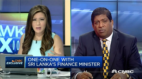 Ravi Karunanayake with CNBC