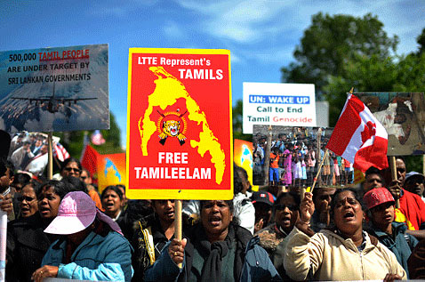 LTTE Tamil diaspora in London