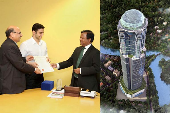 BOI signed for tallest building in Sri Lanka