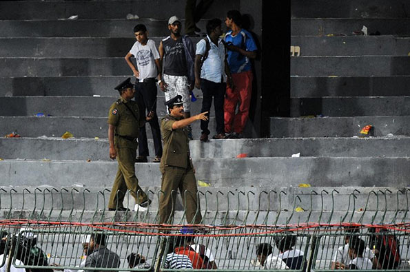 Premadasa stadium clash