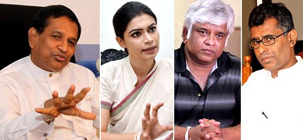 Rajitha Senaratne - Hirunika Premachandra - Arjuna Ranatunga - Patali Champika Ranawaka