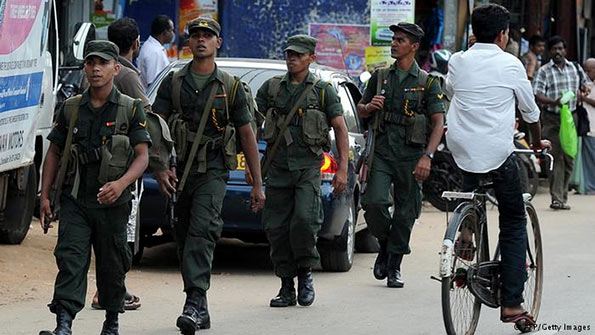 Sri Lanka Army in Jaffna