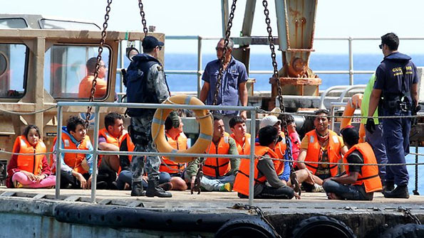 Sri Lankan asylum seekers