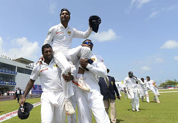 Kumar Sangakkara's final test match