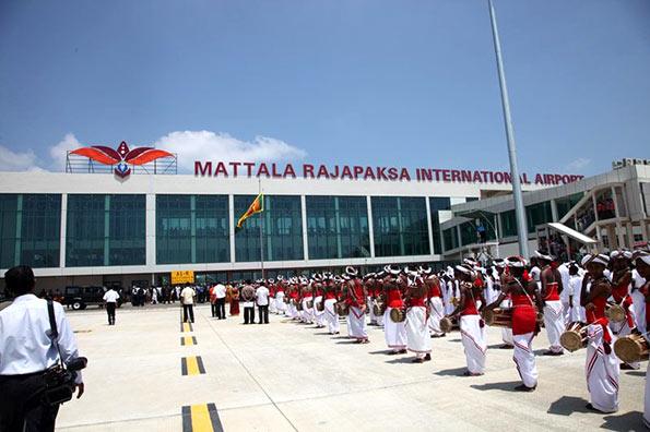 Mattala International airport - MRIA
