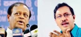 Susil Premajayantha and Anura Priyadarshana Yapa