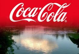 Coca cola and Kelani river