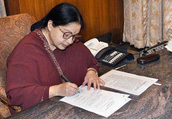 Jayalalitha writes