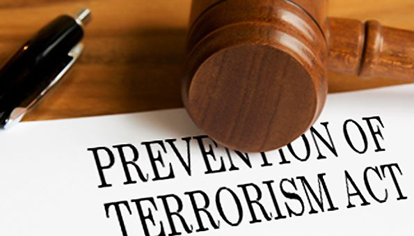 Prevention of terrorism act