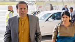 Sri Lanka President Maithripala Sirisena arrived in Malta