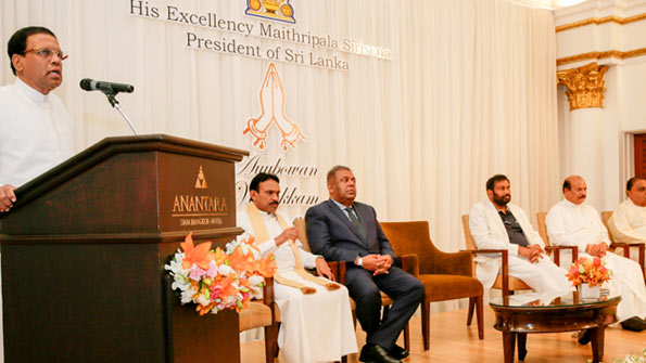 Sri Lanka President Maithripala Sirisena in Thailand