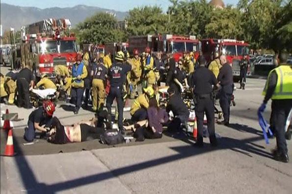 Shooting rampage in California