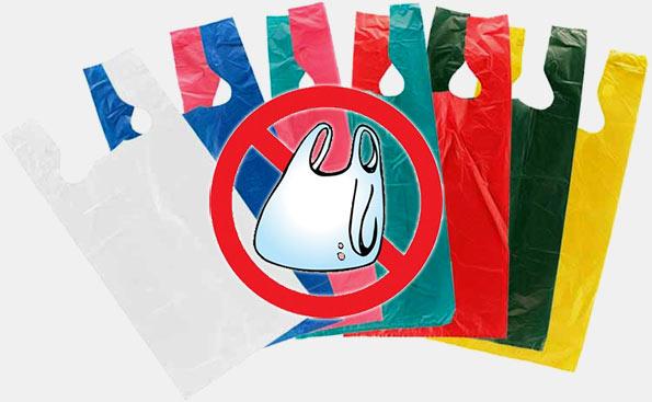 No polythene bags