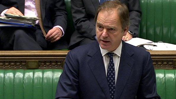 UK Minister Hugo Swir