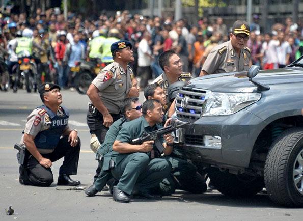 Jakarta explosion