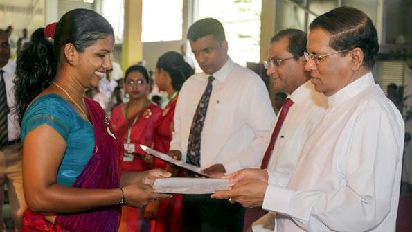 President Maithripala Sirisena