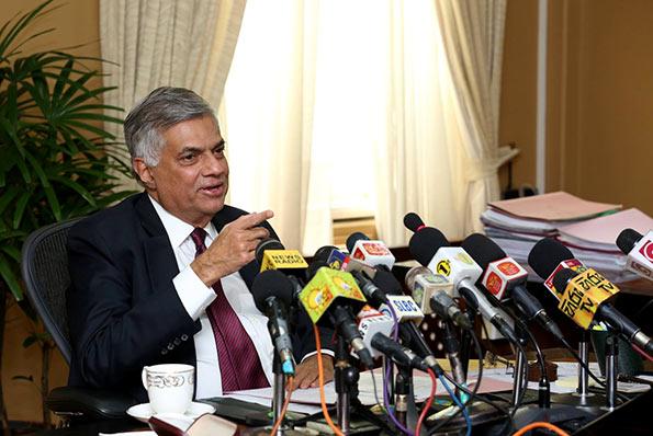 Prime Minister Ranil Wickremasinghe