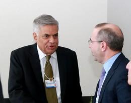 Sri Lanka Prime Minister Ranil Wickremasinghe at The World Economic Forum 2016