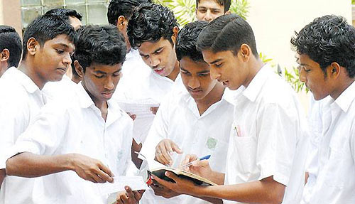 Sri Lankan school students