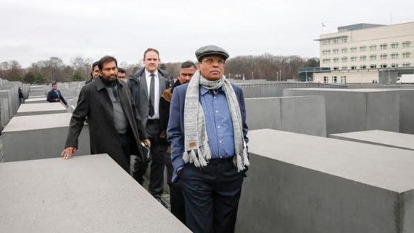 Sri Lanka President Maithripala Sirisena in Berlin