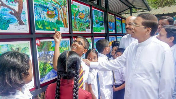 Sri Lanka President Maithripala Sirisena on World Wetland Day