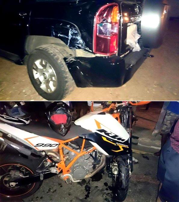 Patali Champika Ranawaka accident