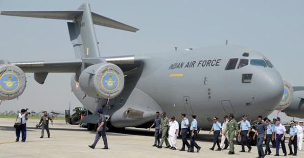 C-17 aircraft - India