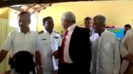 Nazeer Ahamed scolded Sri Lanka Navy Officer