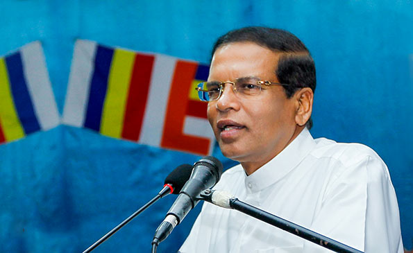 President Maithripala Sirisena Vesak Message