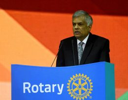 Prime Minister Ranil Wickremesinghe at Rotary International Convention in Korea