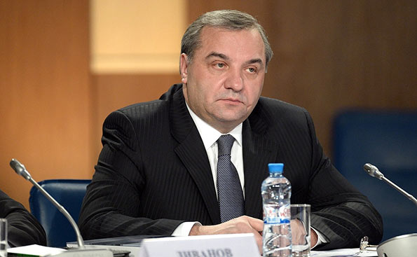 Minister of Emergency Situations Vladimir Puchkov