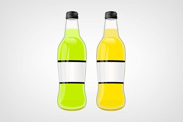 Green and Yellow bottles